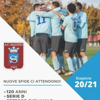 Brochure del Saluzzo Calcio