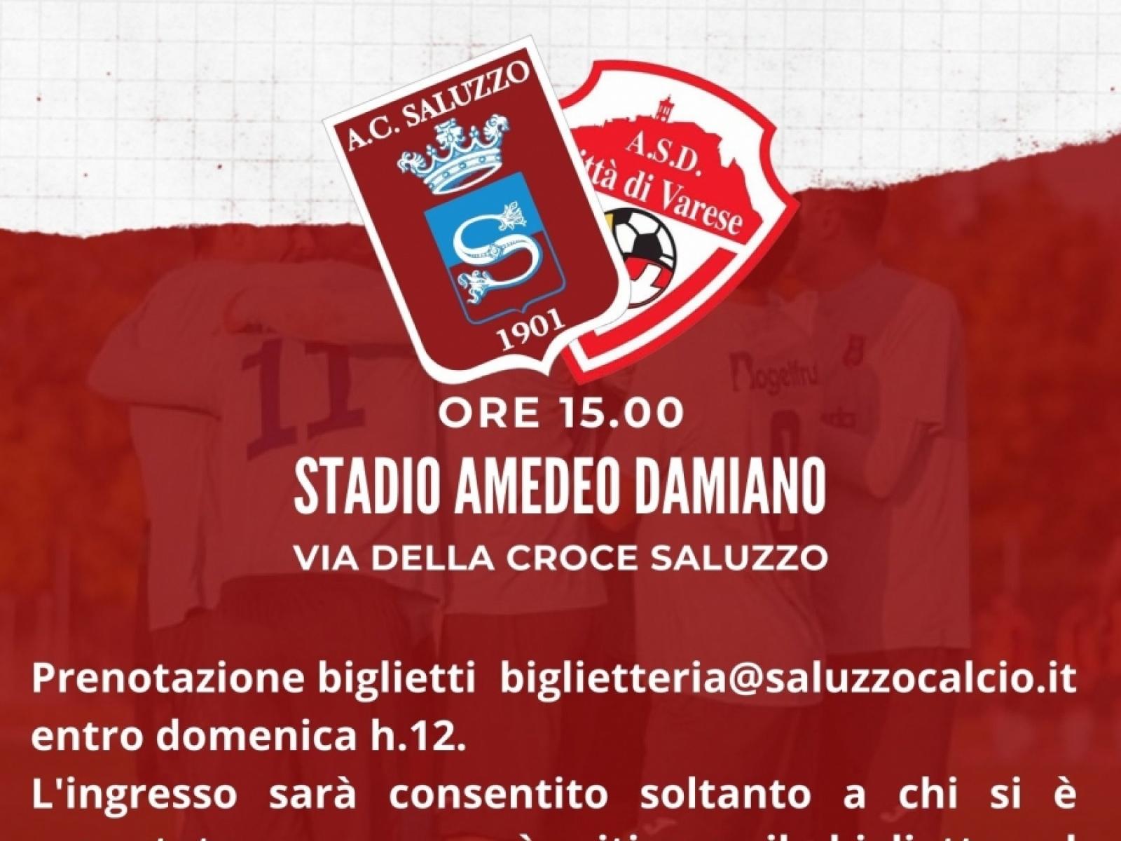 Saluzzo vs Città di Varese