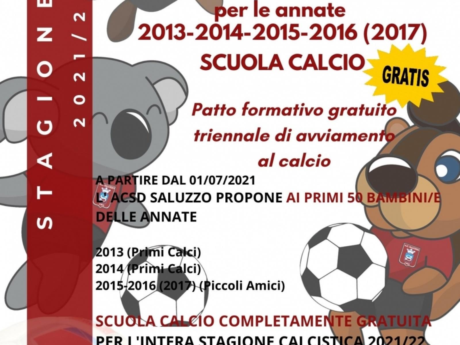 Saluzzo Calcio 1901 for KIDS